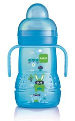 Lutipudel MAM Trainer 6+ kuud 220 ml, blue