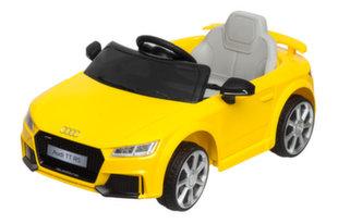 Elektrinis vaikiškas automobilis Audi TT RS 12V, geltonas