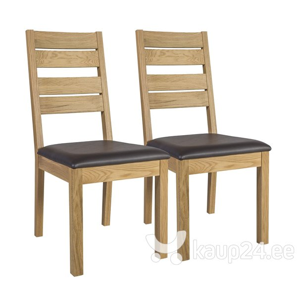Комплект из 2-х стульев Provence, коричневый
