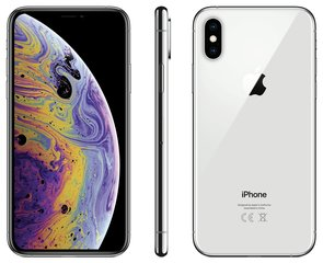 Apple iPhone Xs, 64 GB, hõbedane