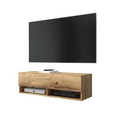 TV столик Wander без освещения, 30x100x31 см, дубового цвета