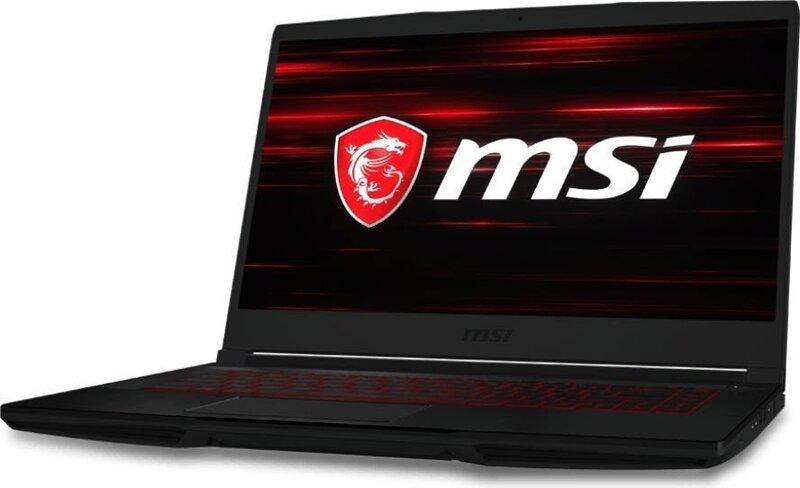 MSI GF63 8RD-013XPL 8 GB RAM/ 240 GB M.2 PCIe/ 120 GB SSD/ Windows 10 Home