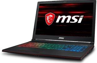 MSI GP63 Leopard (8RE-060XPL) 8 GB RAM/ 256 GB M.2 PCIe/ 256 GB SSD/