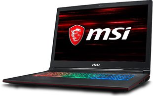MSI GP73 Leopard (8RE-057XPL) 8 GB RAM/ 240 GB M.2 PCIe/ 256 GB SSD/