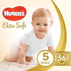Mähkmed HUGGIES Elite Soft suurus 5, 56tk.