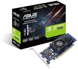 Asus GeForce GT 1030 LP 2GB GDDR5 (64 bit), HDMI, DisplayPort, BOX (GT1030-2G-BRK)