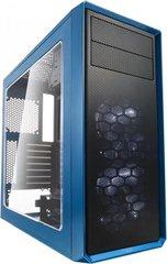 Fractal Design Focus G, su langu, mėlynas (FD-CA-FOCUS-BU-W) hind ja info | Arvutikorpused | kaup24.ee