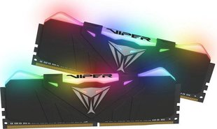 Patriot VIPER RGB DDR4 16GB DUAL KIT (2x8GB) 2666MHz CL15 Black Radiator (PVR416G266C5K)