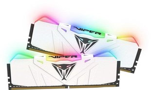 Patriot VIPER RGB DDR4 16GB DUAL KIT (2x8GB) 3200MHz CL16 White Radiator (PVR416G320C6KW)