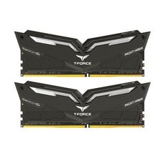 Team Group Nighthawk, DDR4, 2x8GB, 3200MHz, CL16, LED White (THWD416G3200HC16CDC01)