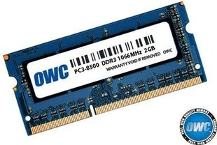 OWC SO-DIMM DDR3 4GB 1600MHz CL11 Low Voltage Apple Qualified (OWC1600DDR3S4GB) hind ja info | Operatiivmälu (RAM) | kaup24.ee