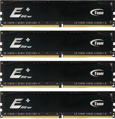 Team Group Elite Plus Black DDR4 2133 Quad 16 GB (TPKD416GM2133HC15QC01)