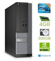 Dell 3020 SFF i3-4130 4GB 500GB GT1030 2GB DVDRW WIN10Pro
