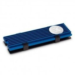 EK Water Blocks EK-M.2 Radiator NVMe Blue (3830046991775)