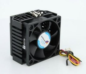 StarTech 65x60x45mm Socket 7/370 CPU Cooler Fan w/ Heatsink & TX3 connector (FAN370PRO) цена и информация | Кулеры для процессоров | kaup24.ee