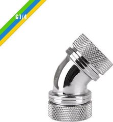 "Thermaltake angle fitting G1/4"" Chrome (CL-W098-CA00SL-A)"