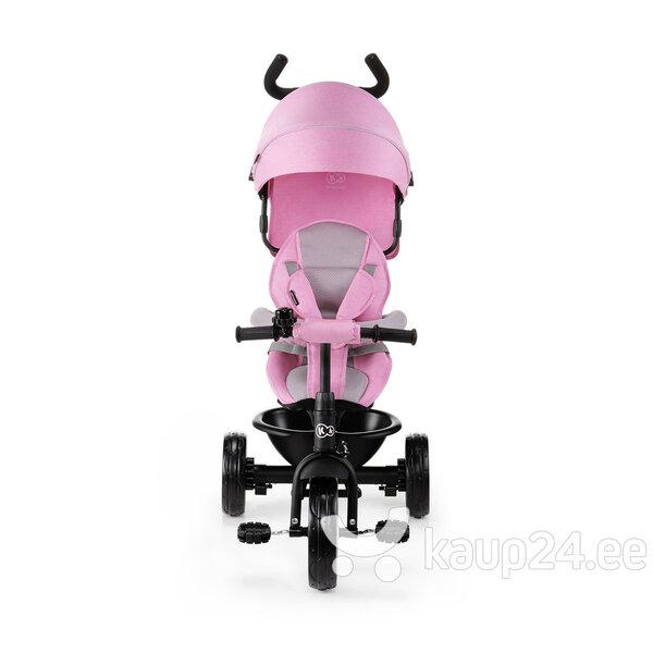 Kolmerattaline lapsevanker Kinderkraft ASTON, roosa soodsam