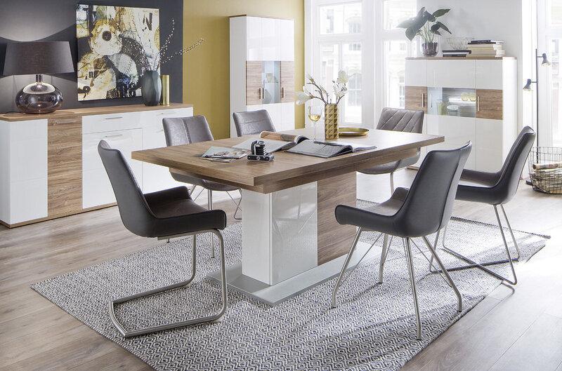 Набор из 2 стульев Danita C-3, темно-серый