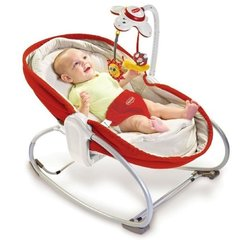 Lamamistool Tiny Love Napper 3in1, red