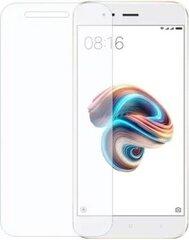Kaitseklaas sobib Xiaomi Mi 5X/Mi A1, Läbipaistev hind ja info | Ekraani kaitsekiled | kaup24.ee