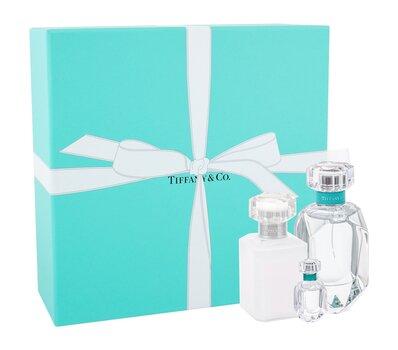 Komplekt naistele Tiffany & Co Tiffany naistele: parfüümvesi EDP 75 ml + parfüümvesi EDP 5 ml + 100 ml + lõhnastatud ihupiim 100 ml