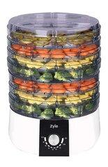 Toidukuivati Zyle ZY116FD hind ja info | Puuviljakuivatid | kaup24.ee