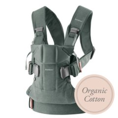 Babybjörn сумка- кенгуру One Organic, Greyish Green 098068E1