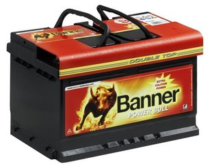 Aku BANNER Power Bull 62Ah 540A