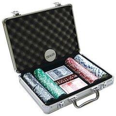 Комплект для игры в покер (200 жетонов)
