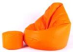 Kott-tool tumbaga Mega Comfort, gobelään/oranž