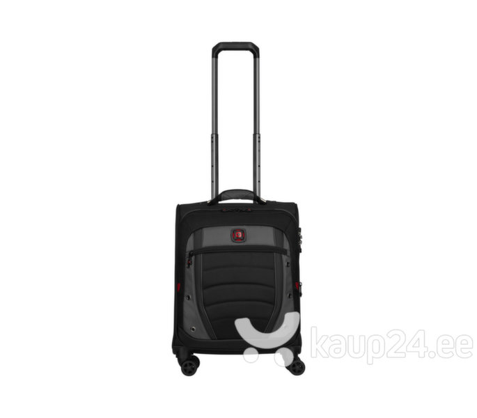 Väike kohver Wenger Synergy Carry-On 604377, must/hall tagasiside