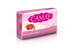 Maasikalõhnaline seep Camay Bar Creme & Strawberry 85 g