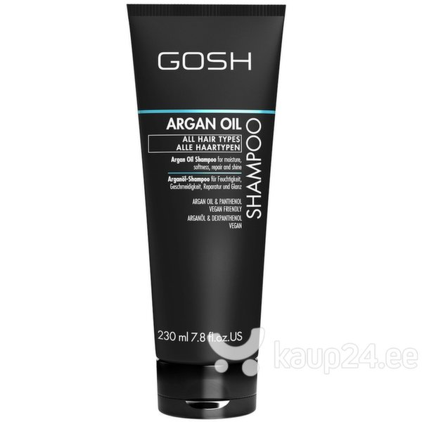 Šampoon Gosh Argan Oil 230 ml