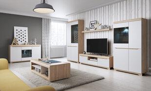 Elutoamööbli komplekt Avallon, pruun/valge