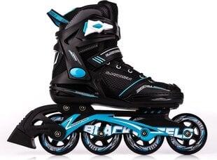 Rulluisud Blackwheels Slalom, must/sinine hind ja info | Rulluisud ja tarvikud | kaup24.ee