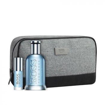 Komplekt meestele Hugo Boss Boss Bottled Tonic: EDT 100 ml + miniversioon 8 ml + kosmeetikakott hind ja info | Meeste parfüümid | kaup24.ee