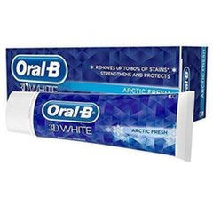 Hambapasta Oral-B 3D White Arctic Fresh 75 ml hind ja info | Suuhügieen | kaup24.ee