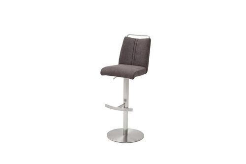 Барный стул Giulia A-1, гобелен, коричневый