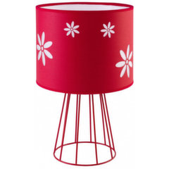 TK Lighting laualamp Flora Red