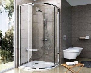 Ümar dušikabiin Ravak PSKK3, 100x100cm (läikiv korpus + läbipaistev klaas) hind ja info | Ümar dušikabiin Ravak PSKK3, 100x100cm (läikiv korpus + läbipaistev klaas) | kaup24.ee
