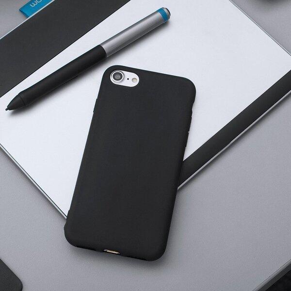 Soft Matt Case Gel TPU чехол для телефонаHuawei P Smart черный дешевле