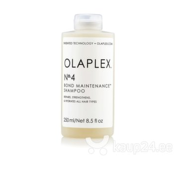 Šampoon Olaplex No 4. Bond Maintenance 250 ml hind ja info | Šampoon Olaplex No 4. Bond Maintenance 250 ml | kaup24.ee