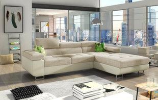 Мягкий угловой диван Armando, кремового цвета