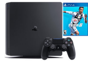 Sony Playstation 4 (PS4) Slim 1TB FIFA 19