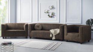 Pehme mööbli komplekt 3+2+1 BoboChic Django I, pruun