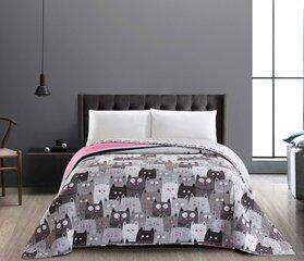Kahepoolne voodikate DecoKing Cats Invasion, 170 x 210 cm