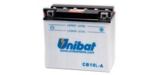 Аккумулятор Unibat 12 V 18 Ah +- 235 A