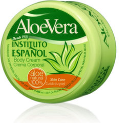 Крем для тела с алоэ Instituto Espanol Aloe Vera Body Cream 400 мл