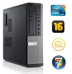 DELL 7010 DT i3-3220 16GB 120SSD DVD WIN7Pro цена и информация | DELL 7010 DT i3-3220 16GB 120SSD DVD WIN7Pro | kaup24.ee