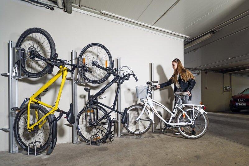 Парковочный подъемник для велосипедов Stainless Steel P1